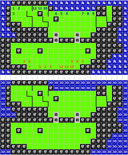 海上戦マップ(ティアリングサーガ)